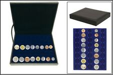 Safe 63390 nova de Luxe Tirelire 5 Kursmünzenmsätze Grande-Bretagne