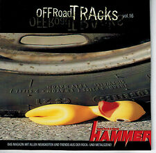 CD SAMPLER Metal Hammer vol. 16 Rock Black Death off road tracce come nuovo Heavy