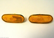 2 x MERCEDES SPRINTER AND VW CRAFTER 06-UP SIDE MARKER LIGHT LAMP REFLECTOR LENS