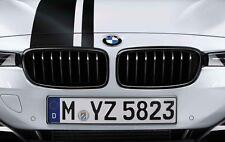 BMW M PERFORMANCE ORIGINALE ANTERIORE SINISTRA/DESTRA Coppia di Rene Griglia Da Forno Nero f20/f21