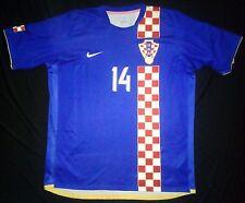 Croatia 06-08 Luca Modric Away Shirt Real Madrid Jersey Trikot Spain Maglia