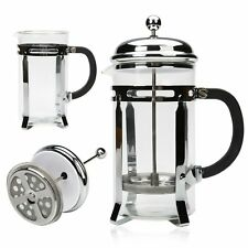 Stainless Steel Cafetiere French Coffee Press Tea Maker Metal Cup Base 1000ml 1L