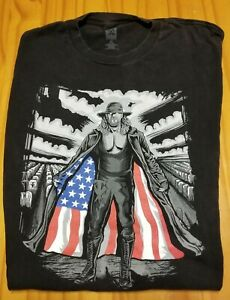 Blemished WWE The Undertaker - I Respect the Flag - T-Shirt (Size XL)