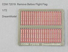 Dream Model 72019 1/72 Remove Before Flight Flags Color Etching Parts