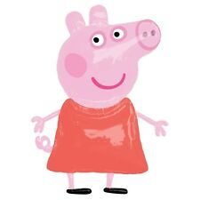 "Life Size 48"" PEPPA PIG Airwalker Huge Figure Pink Helium BALLOON Birthday Party"
