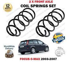 Pour ford focus cmax 1.8i 2.0i 1.6 tdci 2003-2007 nouveau 2 x front coil springs set