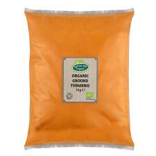 Organic Turmeric Powder (Ground) 1kg Certified Organic