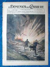 La Domenica del Corriere 8 febbraio 1920 Basovizza - Dirigibile - Sciopero Roma