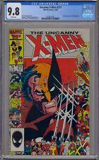 UNCANNY X-MEN #211 CGC 9.8 1ST MARAUDERS WHITE PAGES