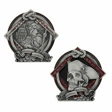 Pirate Geocoin - Courage Official Geocaching Trackable
