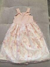 Girl Boutique Fancy Fancy USA Party Dress Size 5 Pale Pink Light
