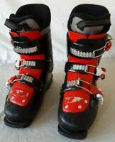 NORDICA Firearrow 755140 Team 3 Ski Boots Red & Black Youth 23.5 Mondo Men's 5.5