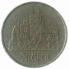 COMMEMORATIVE 5 MARK COIN FROM EAST GERMANY. 1972-1983. CITY OF MEISSEN