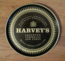 Harvey's imported sherries and ports  Liquor serving tray drink beer vintage old