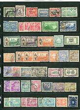 Bolivia 1900-50s Collection 9 Pages 385 Stamps Mint & Used