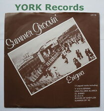 """ENIGMA - Summer Groovin' - Excellent Condition 7"""" Single Creole CR 16"""