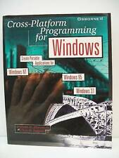 Book, Cross-Platform Programming for Windows by Murray