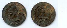 Gertbrolen Monnaie satirique  Napoléon III  Diamètre 25 mm,  Exemplaire N°2