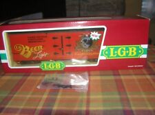 LGB G Scale #4472, Lake George & Boulder Brewing Co. Reefer OB
