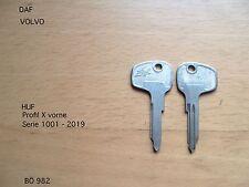 DAF  55,66, Coupe Marathon 1 NOS ORIGINAL Schlüssel Rohling HUF  X   982