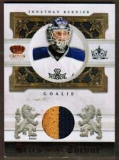 2010-11 Crown Royale Heirs to the Throne Jonathan Bernier Patch #/50 (ref 29351)