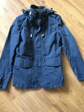 $595 New Ralph Lauren Polo Dark Navy  Nylon Utility Jacket sz M
