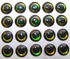 20 y. Moon 3d Eyes/Ojos - 12 mm-self adhesive Eyes - (Precio unitario € 0,149)