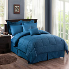 10-Piece Down Alternative Comforter Set Bed-in-a-Bag Comforter Set