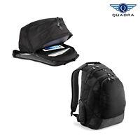 Quadra Vessel Laptop Backpack (QD905) - Premium Padded Rucksack Safe Travel Bag