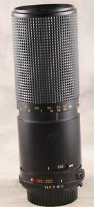 Minolta MD 100-200mm 5.6 Manual Focus Zoom Lens for Film Cameras