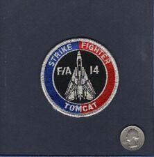F/A-14 F-14 TOMCAT STRIKE FIGHTER US NAVY VF- Squadron Bullet Patch