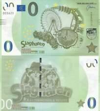Biljet billet zero 0 Euro Memo - Slagharen Themepark (023)