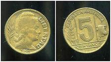 ARGENTINE 5 centavos  1944