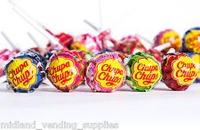 200 x Strawberry and Cream Chupa Chups Lollypops,Bargain,Pinata Prizes,Gift