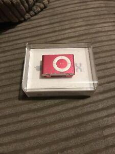 Pink Ipod Shuffle 2nd Generation -A1204 Boxed