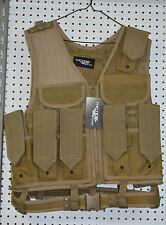Coyote brown tactical a1 paintball airsoft vest (#bte51)