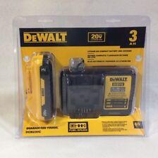 DeWalt DCB230C New DCB203 3.0Ah 20V BATTERY & CHARGER DCB112 - Sealed - 2018