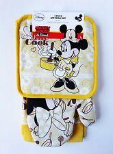 "Disney - Minnie Mouse ""Kiss the Cook"" 3 Piece Kitchen Set"