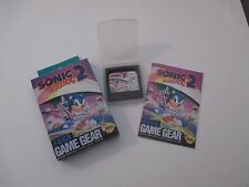 Sonic the Hedgehog 2 for Game Gear System - Box/Instructions/Game