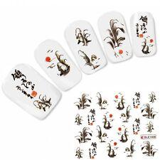 Nagel Sticker Nail Art Tattoo Japan Oriental Landschaft Aufkleber NEU!