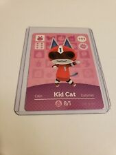 Kid Cat # 197 Animal Crossing Amiibo Card Horizons Series 2 MINT NEVER SCANNED!