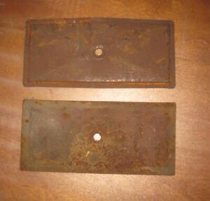 Two 1915 -1919 Model T Ford Valve Covers Very Used