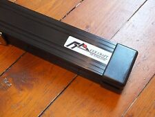 3/4 Black Cue Craft Aluminium / Alloy Snooker / Pool Cue Case