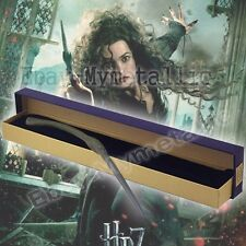 Harry Potter Bellatrix Lestrange 34cm Resin&Iron Replica Magical Wand Cosplay WB