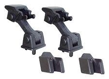 Crown Automotive 55176636K2 Hood Latches, Rubber, Black, Jeep, Pair 97-06 TJ