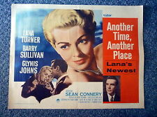 ANOTHER TIME ANOTHER PLACE Lana Turner Original 1958 US ½-Sheet Movie Poster