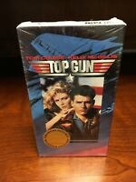 NEW Sealed 1996 Paramount Pictures Top Gun VHS Millennium Collection Seal