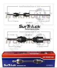2 Front CV Axle Shafts SurTrack for Isuzu VehiCROSS 4WD 1999-2001 Complete Axle