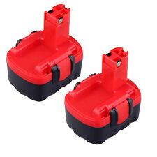 2pcs 14.4V 3000mAh Battery for Bosch 2 607 335 694 BAT038 BAT140 BAT159 BAT040