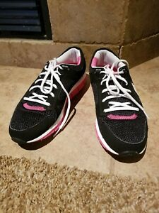 Skechers Womens Shape Ups Liv Smart Walking Shoes White 12470 Lace Up size 10